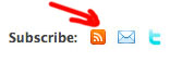 RSS Subscribe Button